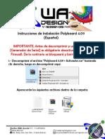 Polyboard 4.09 - Instrucciones de Instalación