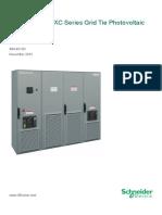 Solar Inverter XC Op Manual 990 4612D