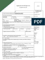 France Visa Application