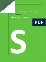 Guía Clinica Vía Subcutanea