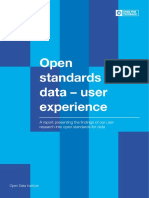 [Shared] ODI Open Standards for Data – User-experience Report
