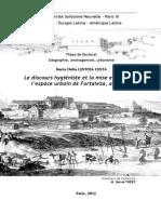 Le Discours Hygiéniste Et La Mise en Ordre de l'Espace Urbain de Fortaleza