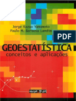Livro de Geoestatística, Conceitos e Aplicações