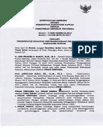 Kesepakatan Bersama Pemerintah Kabupaten Kapuas Dengan Ombudsman