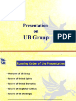 Presentation - UB Group