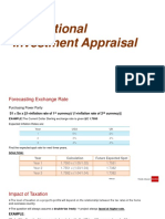 International Investment Appraisal