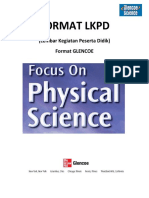 Format LKPD Versi Glencoe