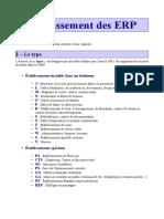 Fiche Explicative Classement ERP