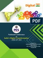 PESU- Digital India Conference Brochure