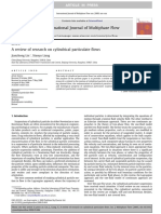 A Review of Research on Cylindrical Particulate Flows