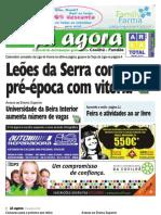 Já Agora, o jornal gratuito da Covilhã e Fundão, nº 81
