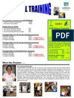 Personal Training Flyer 2010 - AP - 09.10