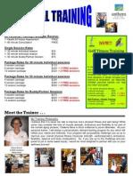 Personal Training Flyer 2010 - AP - 09.10