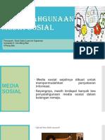 Penyalahgunaan Media Sosial