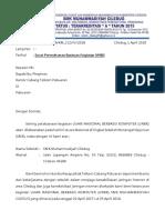 Surat Permohonan PLN Dan Telkom