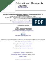 Behaviour Problems Elementary School