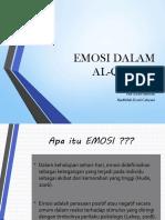 Emosi Dalam AL-QUR'An