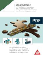 Oil Degradation Varnish