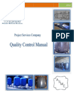 Quality Control Manual