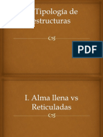 Tipologías estructurales