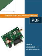 SIM28M GPS Receiver Modem_2