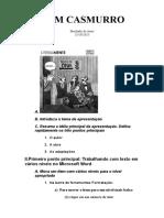 Topicos Para Apresentação - DOM CASMURRO