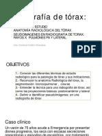Clase 4 Radiografía de Tórax 2018