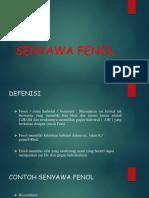 SENYAWA FENOL DAN STEROID
