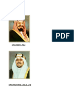King Abdul Aziz Photo