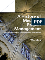 Y. C. Chiu - A History of Medieval Project Management _ From the Byzantine Empire to the Gothic Period (2012, Eburon Academic Publishers)