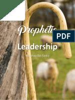 Prophetic Leadership P