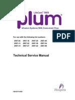 Binf Hospira Lifecare 5000 Plum - Ms