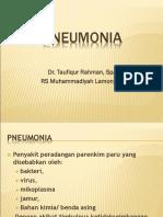 Pneumonia Stikes 1