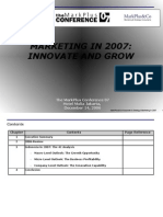 Marketing in Indonesia 2007