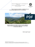 Ficha Tc3a9cnica Impacto Humano Desde La Perspectiva de Sus Paisajes Hidrologicos y Culturales