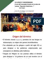 Pasado Clásico y Modernidad. José López