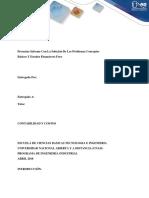 Taller Anexo- Fase 3 Presentar Informe Con La Solución de Los Problemas Conceptos Básicos y Estados Financieros