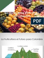 Alcances de La Fruticultura en Colombia