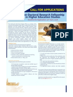 Post Doc Research Fellowship