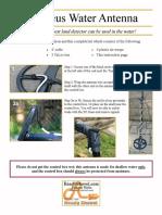 Xp Deus Water Antenna Instructions
