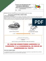 N°1 TALLER EXPRESIÓN ESCRITA CONECTORES