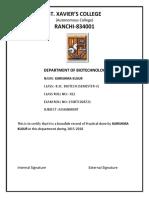 Certificate Biotech