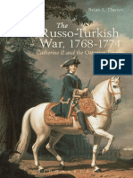 The Russo-Turkish War, 1768-1774 Catherine II and the Ottoman Empire