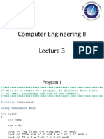 CEII Lecture 3