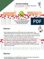PPT Meniere's Disease
