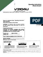 Multi Video Processor RMD-V3104U