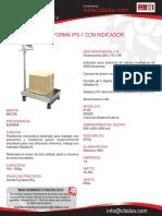 Plataforma Ips-1 Con Indicador 22301011