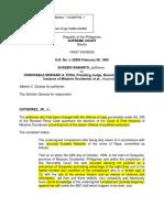 Babanto v. Zosa- Full text