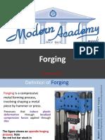 Ch 6 Forging