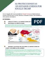 Medidas Proteccionistas Aplicadas en Estados Unidos Por Donald Trump
